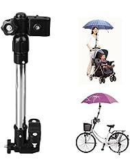 Itaar Schirmhalter für Fahrrad, Kinderwagen, Rollator, Rollstuhl, Golftrolleys, Steckerhalter, Halterung