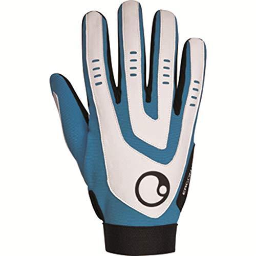 Ergon HE2 blue blau Fahrrad Handschuhe Langf