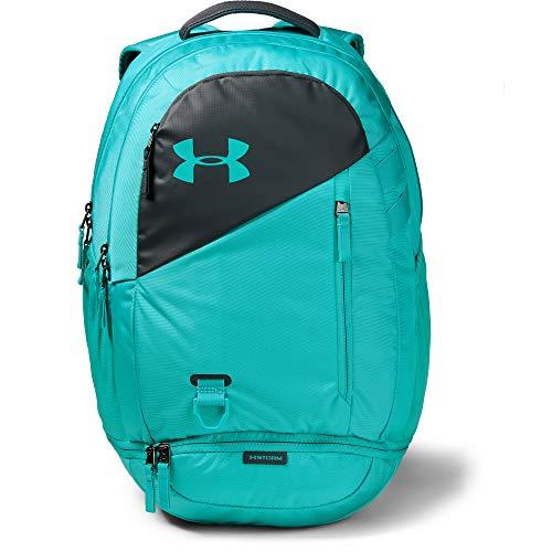 Under Armour Unisex-Erwachsene Hustle 4.0 Backpack Rucksack, 401/Breathtaking Blue, OSFA -
