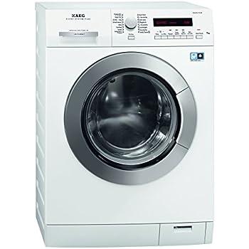 AEG LAVAMAT L5.5FL Waschmaschine Frontlader/A+++ -10% B/1400 UpM/7 kg/Startzeitvorwahl/Fleckenoption