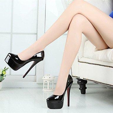 Moda donna sexy sandali Scarpe Donna 16cm Altezza tacco Sexy Round Toe Stiletto Heel pompe scarpe di partito più colori disponibili Red