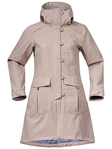 Bergans Damen Bjerke Mantel Softshell greyish beige