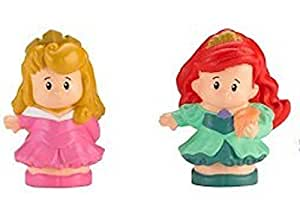 Fisher-Price Little People Disney 2 Pack: Ariel & Aurora