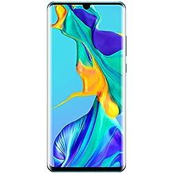 Huawei P30 Pro Smartphone débloqué 4G (6,47 pouces - 8/128 Go - Double Nano SIM - Android 9) Blanc nacré