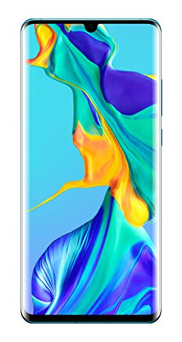 Huawei P30 Pro 128GB Handy, Hellblau/Lavendel, Breathing Crystal, Android 9.0 - Pro Guard Crystal
