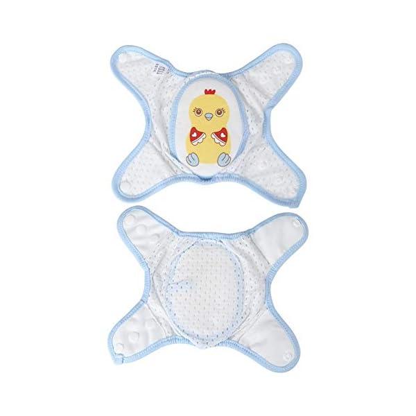 Cojín protector de rodillas de arrastre para bebés, Cojines de codo de rodilla ajustables Protector de seguridad de… 2