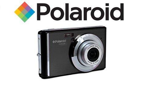 Polaroid IX828 cámara digital 20 megapíxeles, zoom óptico de 8x, 20MP, batería de litio, cámaras digitales mejores compras fácil de usar, ideal para niños o adultos (negro)