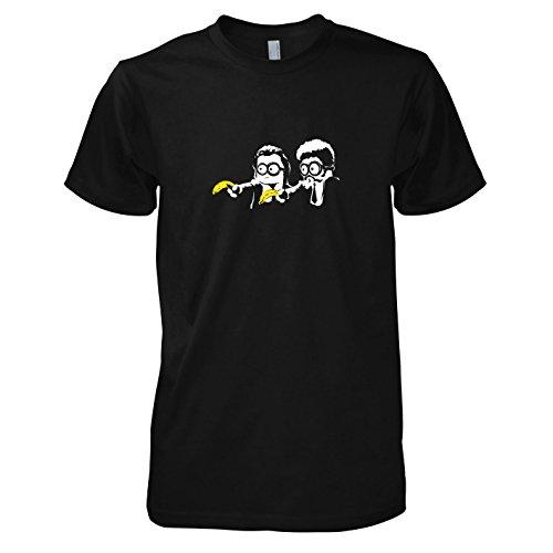 Texlab - Banana Pulp - Herren T-Shirt, Größe L, schwarz