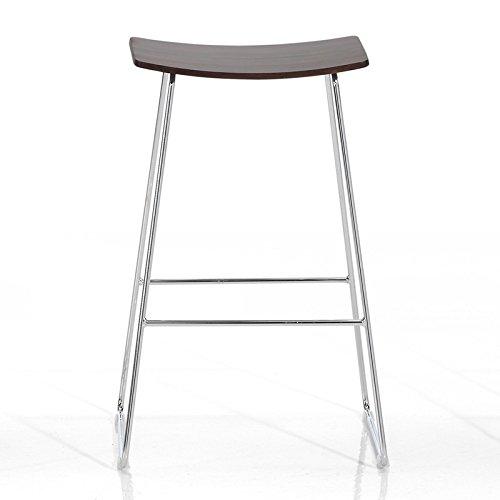 Indhouse Design-Hocker für Bar und Küche in Boden und Stab Buche