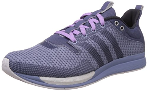 adidas Damen Adizero Feather Boost Laufschuhe Violett (Super S16/Super Purple S16/Prism Blue F13), 37 1/3 EU