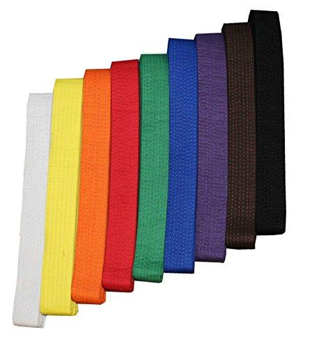 Budogürtel / Karategürtel / Judogürtel / Taekwondogürtel grün mit Namensbestickung