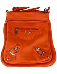 2199 große Damen Tasche schultertasche in 6 Farben 44x29x16 (weiß white) Sunny Girl vQRHE2