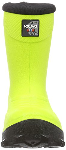 Viking Frost Fighter, Bottes de Neige mixte enfant Jaune (lime/black 8802)