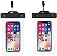 Ekon Universal Waterproof Mobile Cover Pouch 6.5 7 inch Combo for Samsung J8 A9 Poco X2 Bike Oneplus 6 7t Redm