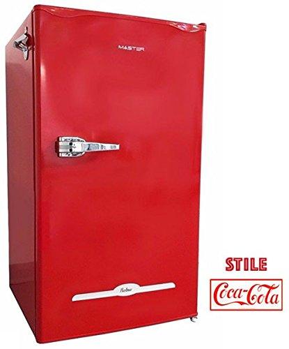 Master Class90 réfrigérateur-congélateur Autonome Rouge 100 L A+ - Réfrigérateurs-congélateurs (100 L, A+, Rouge)