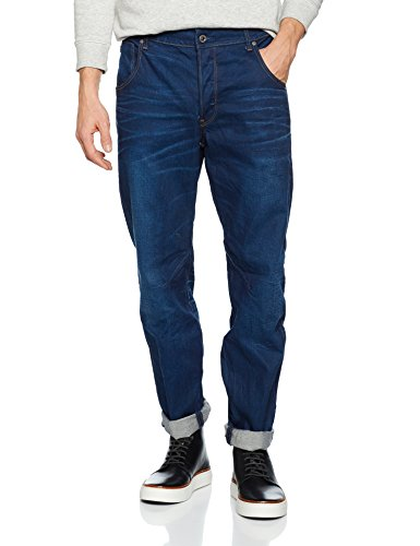 G-STAR RAW Herren Tapered Fit Jeans Arc 3d, Blau (medium aged 71), 35W / 32L