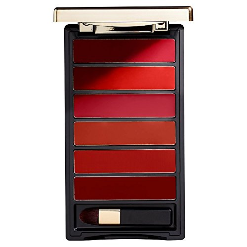 L'Oréal Paris Lippen Make-up Color Riche La Palette Lip red / Lippenstift Palette mit 6 harmonierenden Farbtönen für volle Lippen, 1er Pack