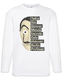 Urban Backwoods Heist Names T-Shirt De Manga Larga Long Sleeve Shirt Tamaños S –