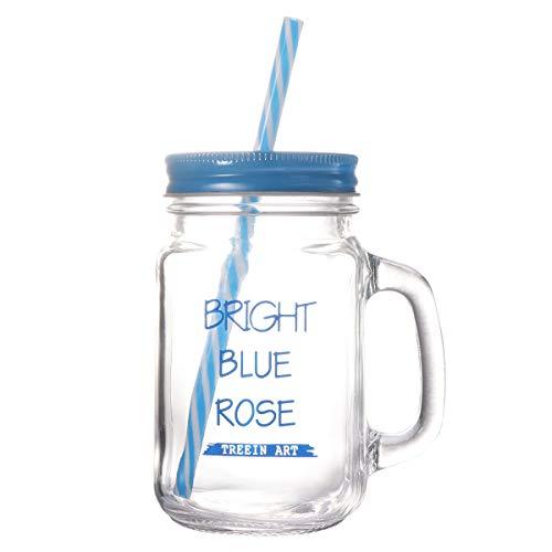n-Becher mit doppelwandigem Isolier-Einmachglas-Becher mit Deckel (blau) ()