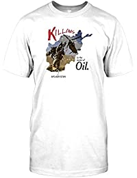 Killing in the Name of Oil - Afghanistan Mens T Shirt - Military