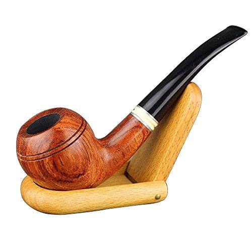 LIULIFE Birnbaum 5951BH 9mm Filter Zigarette Tabakpfeife Herren Smoking Set