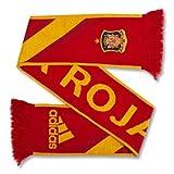 adidas–Bufanda España, Unisex, Fan Schal FEF Home, Rosso - university red/sunshine, Taglia unica (uomo)