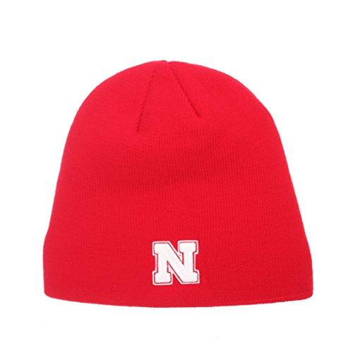 p-NCAA Ohne Winter Knit Beanie Toque Hat, Nebraska Cornhuskers - Red ()