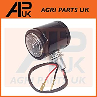 APUK Black Butler Style Side Marker Light Lamp Tractor Case International David Brown