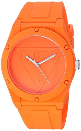 Guess orologio al quarzo in silicone e gomma casual, colore rosso (model: u0979l11)