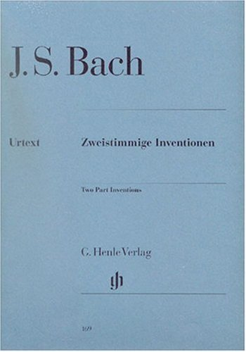 Inventions à 2 Voix BWV772-786 - Piano