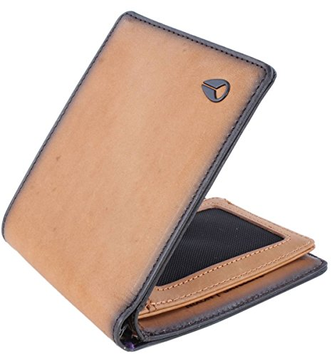 Nixon Satellite Big Bill Bi-Fold ID Coin Wallet Münzbörse, Tan