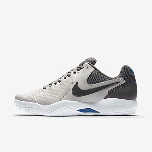 Nike Herren Tennisschuh Air Zoom Resistance, Grau (Vast Grey/Gunsmoke-B 044), 44.5 EU