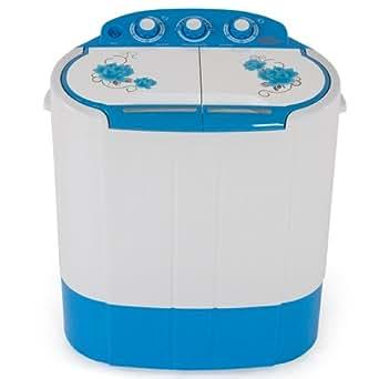 TecTake Mini machine a laver 2,6kg & essorer 2 kg Camping, studio et petites pièces