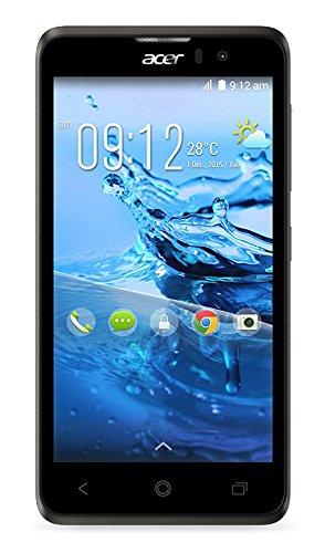 Acer Liquid Z520 Smartphone, 8 GB, Dual SIM, Nero/Antracite [Italia]