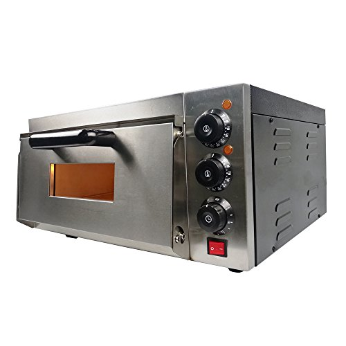 Electric Pizza Oven 16 inch Deck Commercial Baking Oven Fire Stone Catering Cake