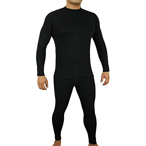 ROUGH RADICAL Funktionswäsche Set Shirt & Hose Thermowäsche BLACK IRON light (XXXL, schwarz)