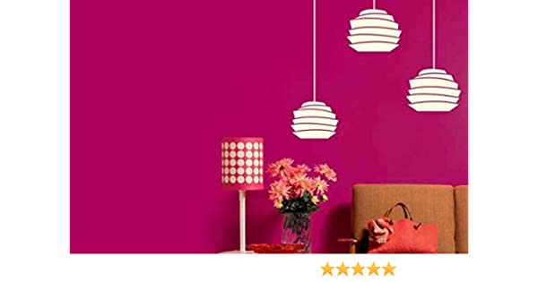 Asian Paints Royale Play Wall Fashion Glory Glow Stencil/Wall Sticker for  Home And Office Wall Décor