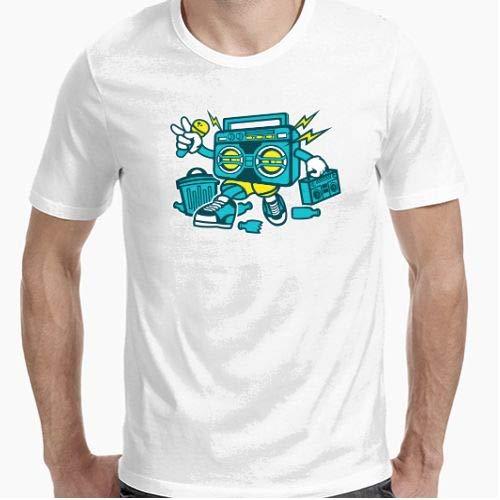 Positivos Camisetas Boombox - L