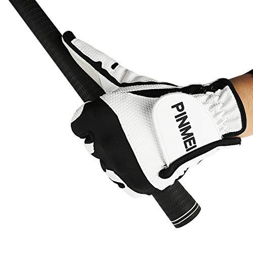 PINMEI Gants de Golf pour Femme avec Grip Stable et Durable...