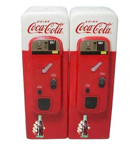 Cramique Coca Cola Distributeur Automatique Salires Et Poivrires