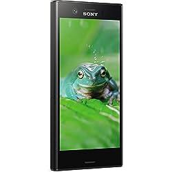 Sony Xperia XZ1 Compact Smartphone (11,65 cm (4,6 Zoll) Triluminos Display, 19MP Kamera, 32GB Speicher, Android) Schwarz - Deutsche Version Sony Xperia