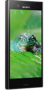Sony Xperia XZ1 Compact Smartphone (11,65 cm (4,6 Zoll) Triluminos Display, 19MP Kamera, 32GB Speicher, Android) Schwarz - Deutsche Version