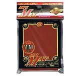 KMC Mini Mat Red Sleeves / kleine matte Hüllen (50)