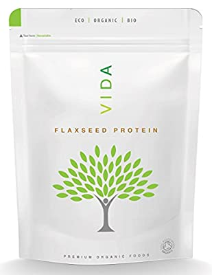 VIDA Superfoods Organic Flaxseed Powder - 150g (Cultivated in Europe)