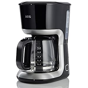 AEG KF3300 Kaffeemaschine (1100 Watt, 1,5 Liter, Warmhaltefunktion) schwarz