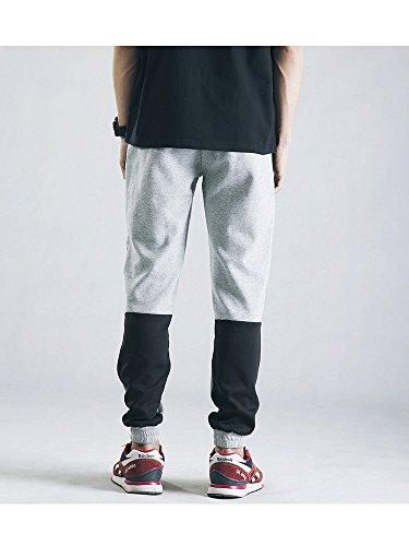 OCHENTA -  Pantaloni sportivi  - Uomo Grigio
