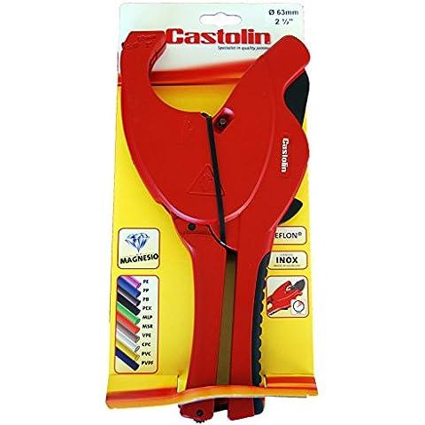 Castolin 13004 - Forbici cutter per plastica e multistrato (diametro 63 millimetri)