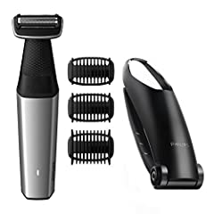 Idea Regalo - Philips Bodygroom Series 5000 BG5020/15 - Rasoio per depilazione schiena, 3 testine incluse