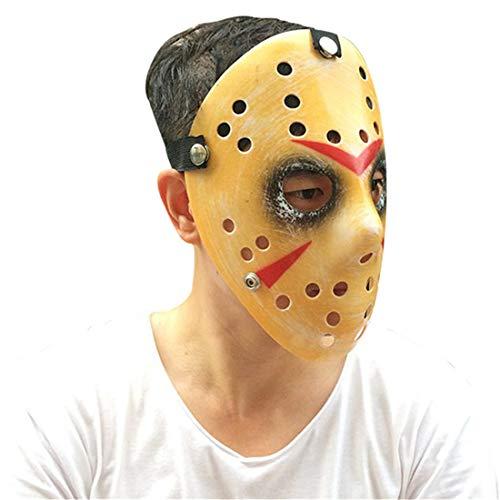 akiter Jason Mask Für Protestieren Halloween Kostüm Musikfestivals Vendetta-Themenpartys Rave Für Männer Alter Mann Kinder Erwachsene Jungs (Easy Diy Halloween Kostüme)