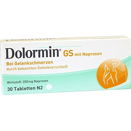 Dolormin GS mit Naproxen Tabletten, 30 St. Tabletten